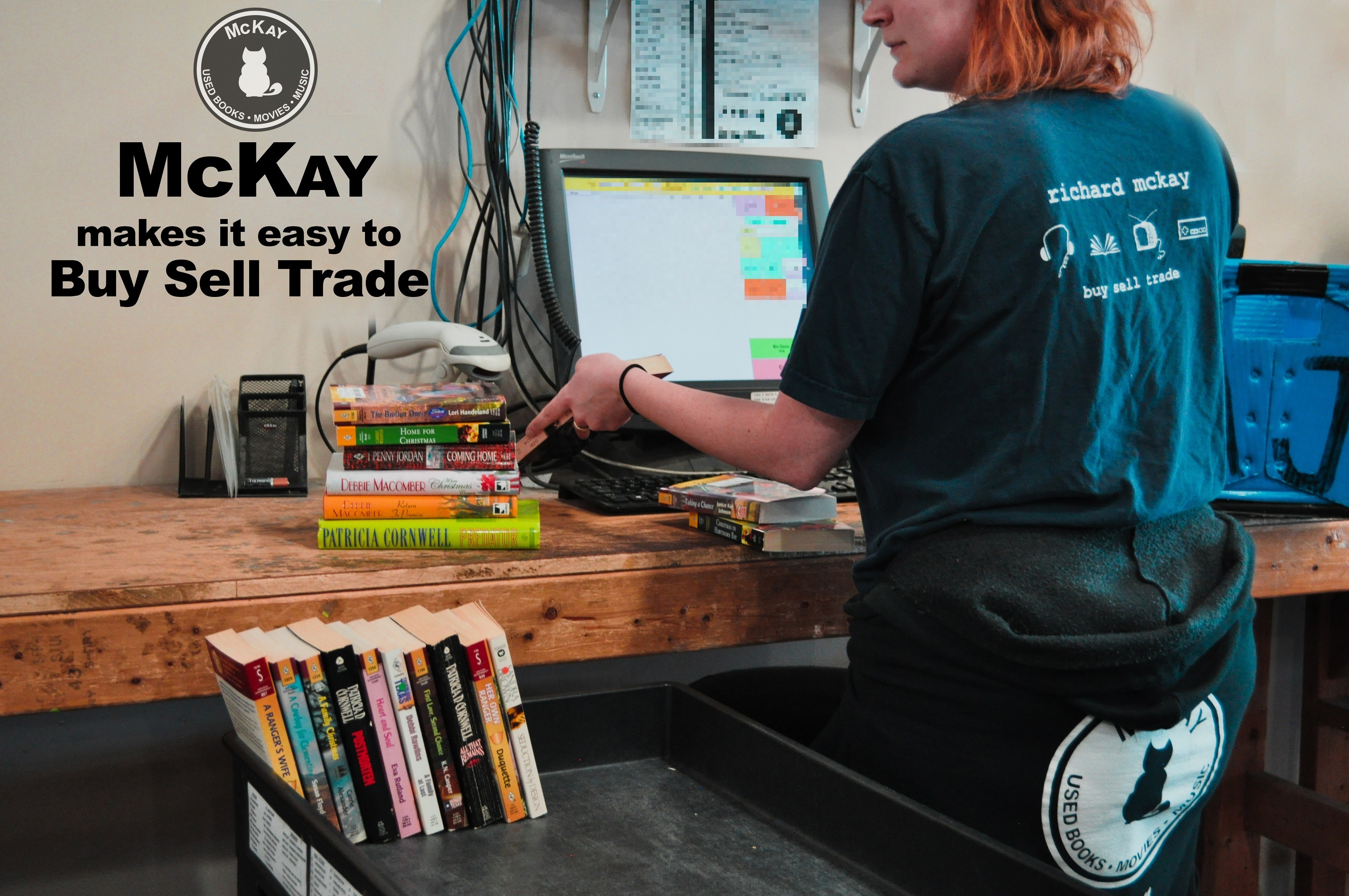 About McKay Used Books